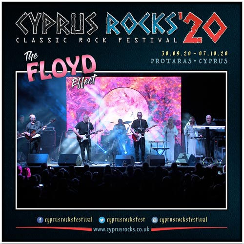 The Floyd Effect at Cyprus Rocks 2020
